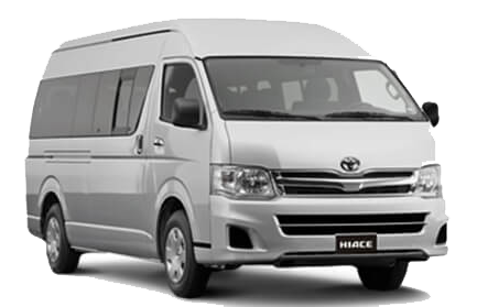 Toyota Hiace or similar