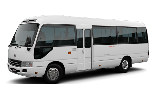 Toyota Coaster or similar